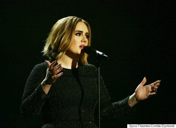 Adele Reveals New Short Hair Cut During X Factor
