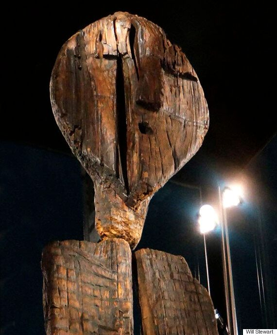 Big Shigir: Mystery Of Russian Idol Covered In Encrypted Code That's Older Than The