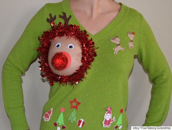 'Sexy' Christmas Jumpers Loved By Extroverts And Breastfeeding