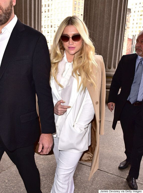 Kesha Supported By Female Stars Including Lady Gaga, Ariana Grande, Lily Allen And Kelly Clarkson, Following...