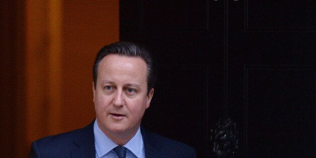 Prime Minister David Cameron leaves 10 Downing Street, London, before heading to Brussels for a crunch...