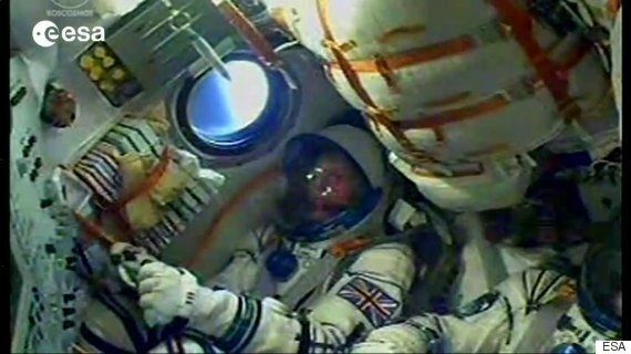 Timothy Peake Docks With International Space Station In Soyuz
