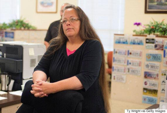 Kentucky Clerk Kim Davis Jailed For Refusing To Issue Marriage Licenses To Same-Sex