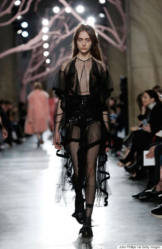 London Fashion Week: Lessons In Seductive Style From Preen's #LFW