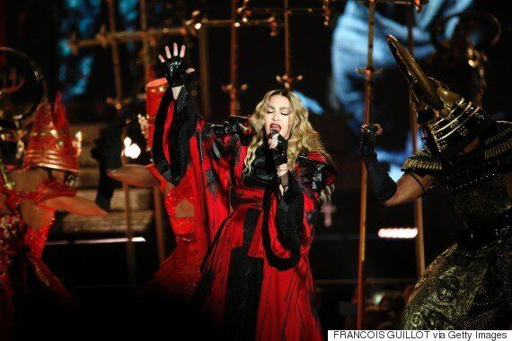 Madonna Brings 'Rebel Heart' Tour To Manchester, But Riles Fans After Arriving On Stage An Hour