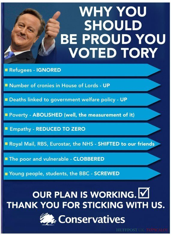 If Conservative Party Leaflets Were