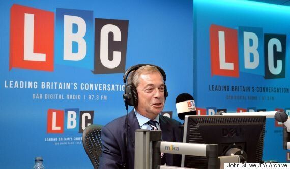 Nigel Farage Blasts 'Compassionate' Response To Refugee Crisis As A 'Threat To