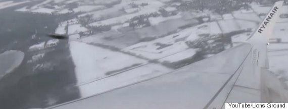 Ryanair Flight Narrowly Avoids Fast-Moving UFO In Passenger