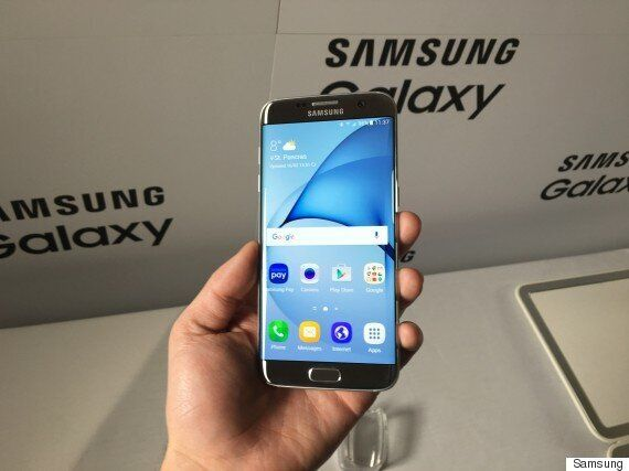 Samsung Galaxy S7 Edge And S7 Unveiled At MWC