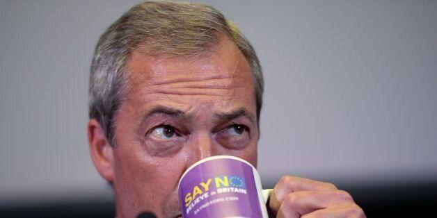 UKIP leader Nigel