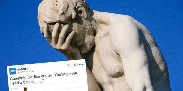Odeon Social Media Fail: You're Gonna Need A
