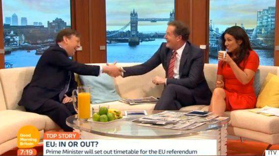 EU Referendum: Vote Leave's John Whittingdale Pressured Into David Cameron Bet By Piers