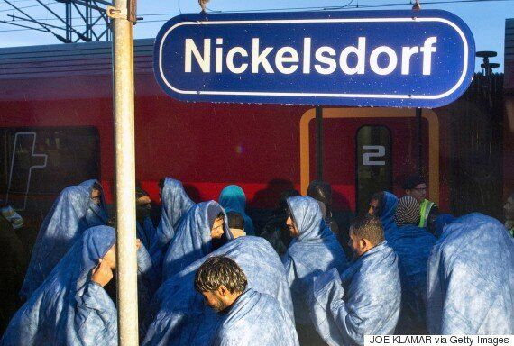 Hungary Buses Its Desperate, Exhausted Migrants To Austrian