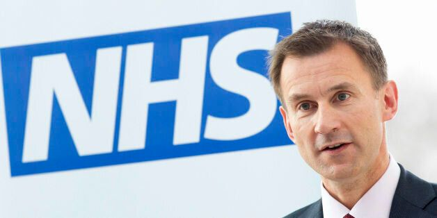 mbargoed to 0001 Sunday September 13File photo dated 05/07/13 of Health Secretary Jeremy Hunt who will...