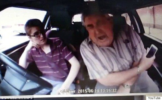 Dashcam Footage Of Shocking Moment Driving Instructor's Elbow Is Broken In Road Rage