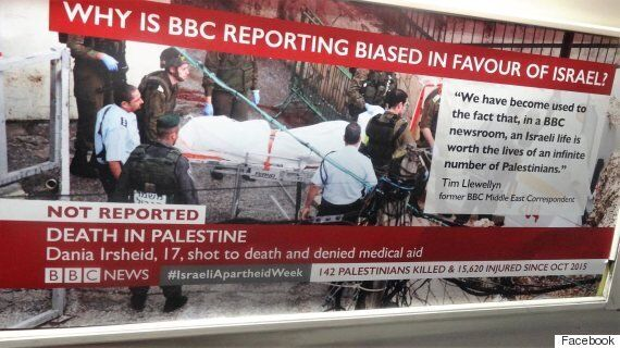Israeli Apartheid Week: Palestinian Activists Plaster TfL Trains With Mocked Up