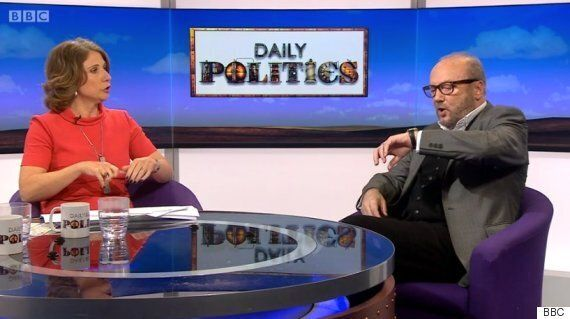 George Galloway And BBC's Jo Coburn In Heated Argument Over Whether He'll Hurt Brexit