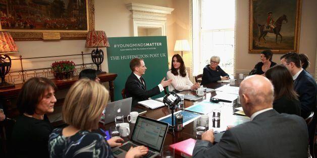 360 Photo Shows HRH Duchess Of Cambridge Meeting Young Minds Matter