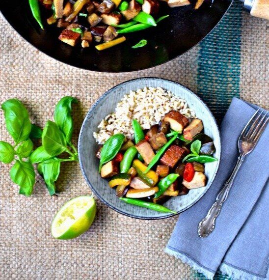 Cooking as Meditation and Veggie Thai(ish)