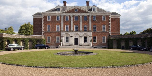 SEVENOAKS, UNITED KINGDOM - AUGUST 08: Chevening House Estate, country house and official residence of...