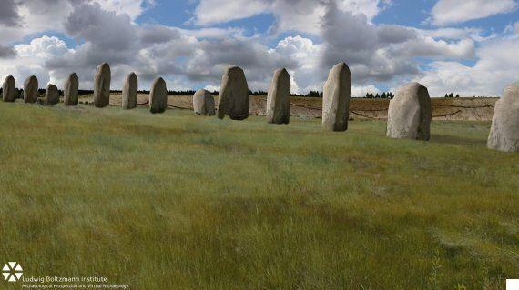 Giant 'Superhenge' Ritual Arena That Dwarfs Stonehenge
