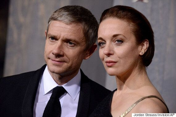 'Sherlock' Stars Amanda Abbington And Martin Freeman Contact Police After Receiving Chilling Online Threats...