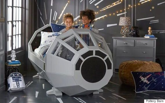 This Star Wars Millennium Falcon Bed Will Make Parents Jealous Of Their