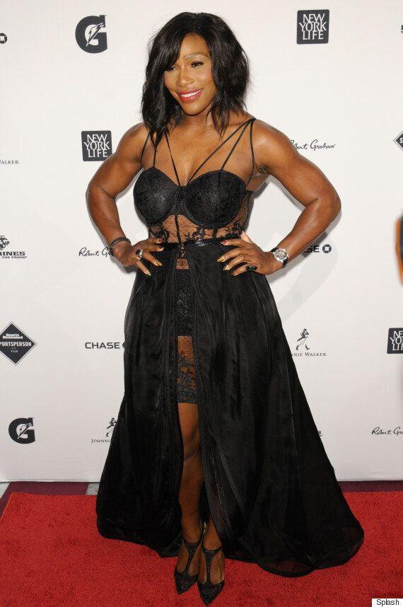 Serena Williams Accepts Sports Illustrated Sportsperson of the Year Award In Daring Sheer