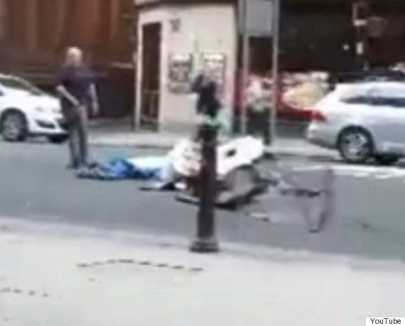 Manchester Man Filmed In 'Vile Act' Of Throwing Homeless Person's Belongings Across Busy