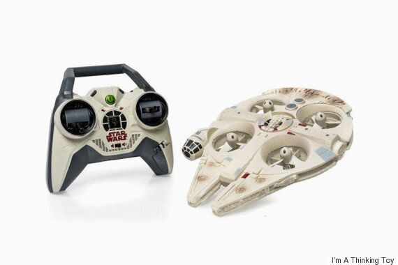 This Star Wars Millennium Falcon Drone Is An Office