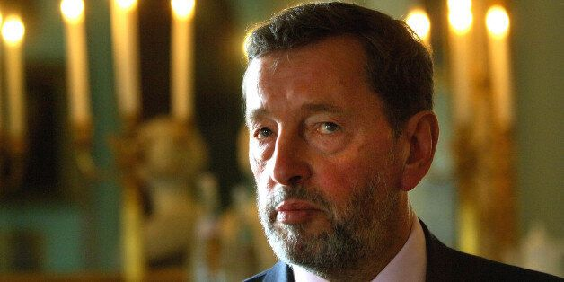 Taping embargo 1300 Sunday October 15, 2006. Former cabinet minister David Blunkett gives an interview,...