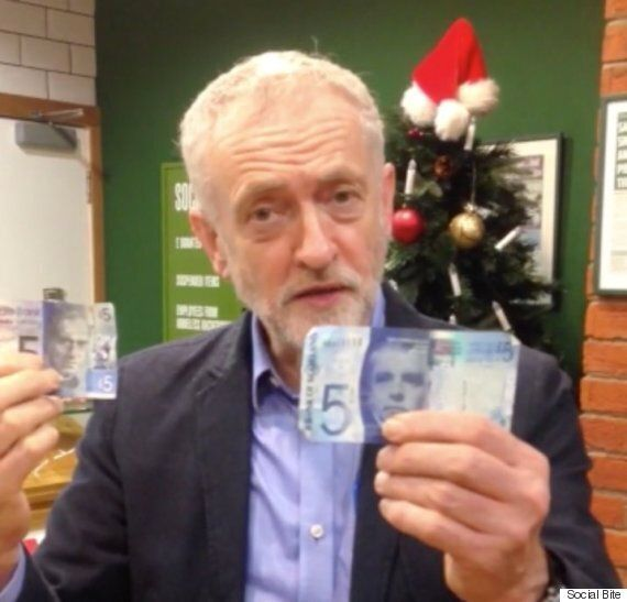 Jeremy Corbyn's Social Bite Video Asks For 5 Pounds To Help The Homeless And