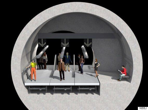 London Architects Dream Up Solution To Snails Pace Circle Line Tube