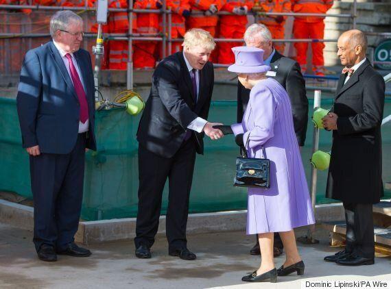 Crossrail Line Named The Elizabeth Line, Boris Johnson Reveals At Unveiling In Bond