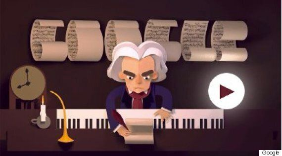 Beethoven: Google Doodle Celebrates Life Of Troubled Composer With