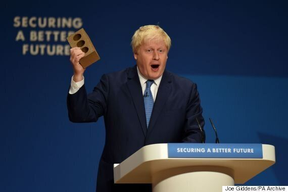 EU Referendum: Boris Johnson Brandishing A Brick To Call For Brexit Has Left Everyone