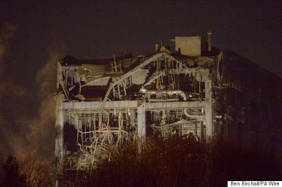 Didcot Power Station 'Collapse' Leaves One Dead And Three Missing After 'Major