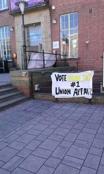 Stolen Campaign Banner Struggle Finally Over for LUU Exec