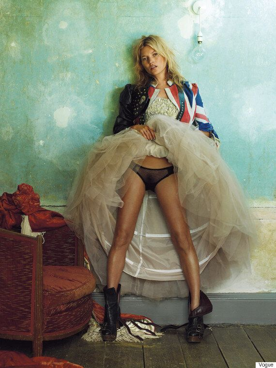 British Vogue Marks 100th Anniversary With National Portrait Gallery Exhibition Of Iconic Supermodel