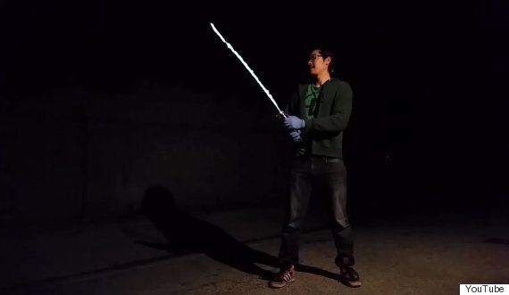 This Real-Life Lightsaber From Star Wars Might Be The Coolest Thing We've Ever