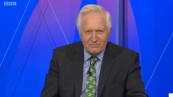 Question Time: David Dimbleby Learns Piers Morgan Over Calling Flagship Politics Programme A