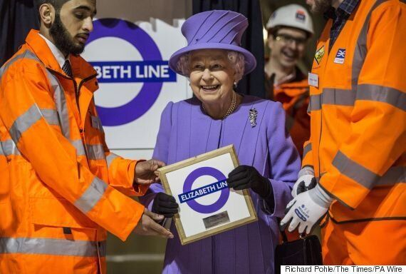 Elizabeth Line Warns Queen To Stop Photobombing Her After Crossrail Name