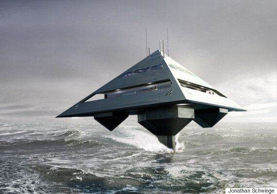 Schwinge Tetra Super Yacht Is A Futuristic Concept Exclusively For The Super
