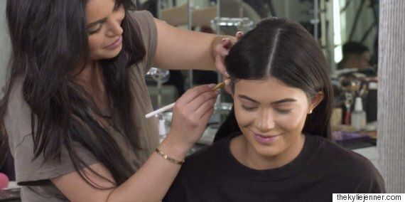Why You Should Put Makeup On Your Ears, According To Kylie