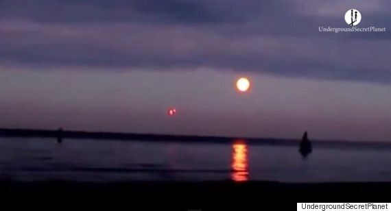 Alien Hunters Claim To Spot Unidentified Flying Objects Over Baltic Sea Near