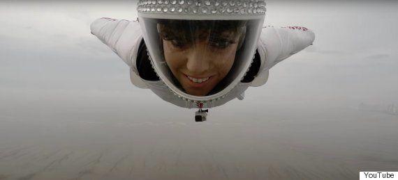 GoPro Footage Captures Wingsuit Pilot Showing Off Some Insane