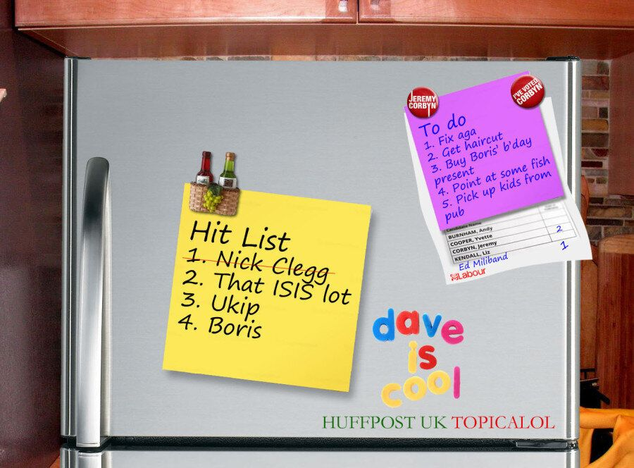 David Cameron's 'Hit List'