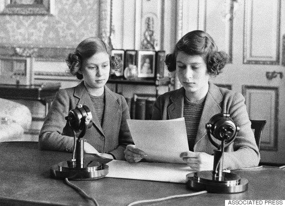 The Queen's First Ever Speech In 1940 Was About Child