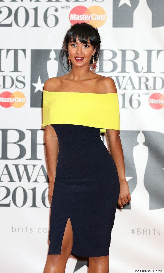 Brit Awards 2016: 'TOWIE' Star Jessica Wright And Presenter Maya Jama Sport Matching
