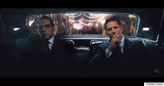 Behind The Scenes With Tom Hardy, On Doubly Fine Form As Both Kray Twins In 'Legend'